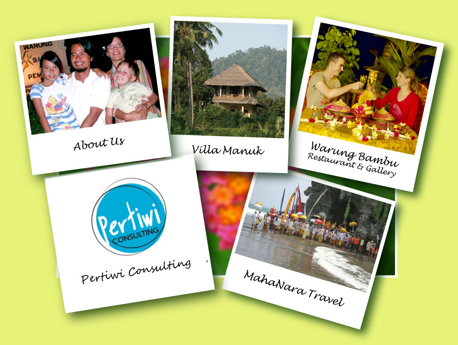 Mahanara Activities: Villa Manuk, Warung Bambu Pemaron, Building or Buying  villa in Bali, MahaNara Travel, About Us